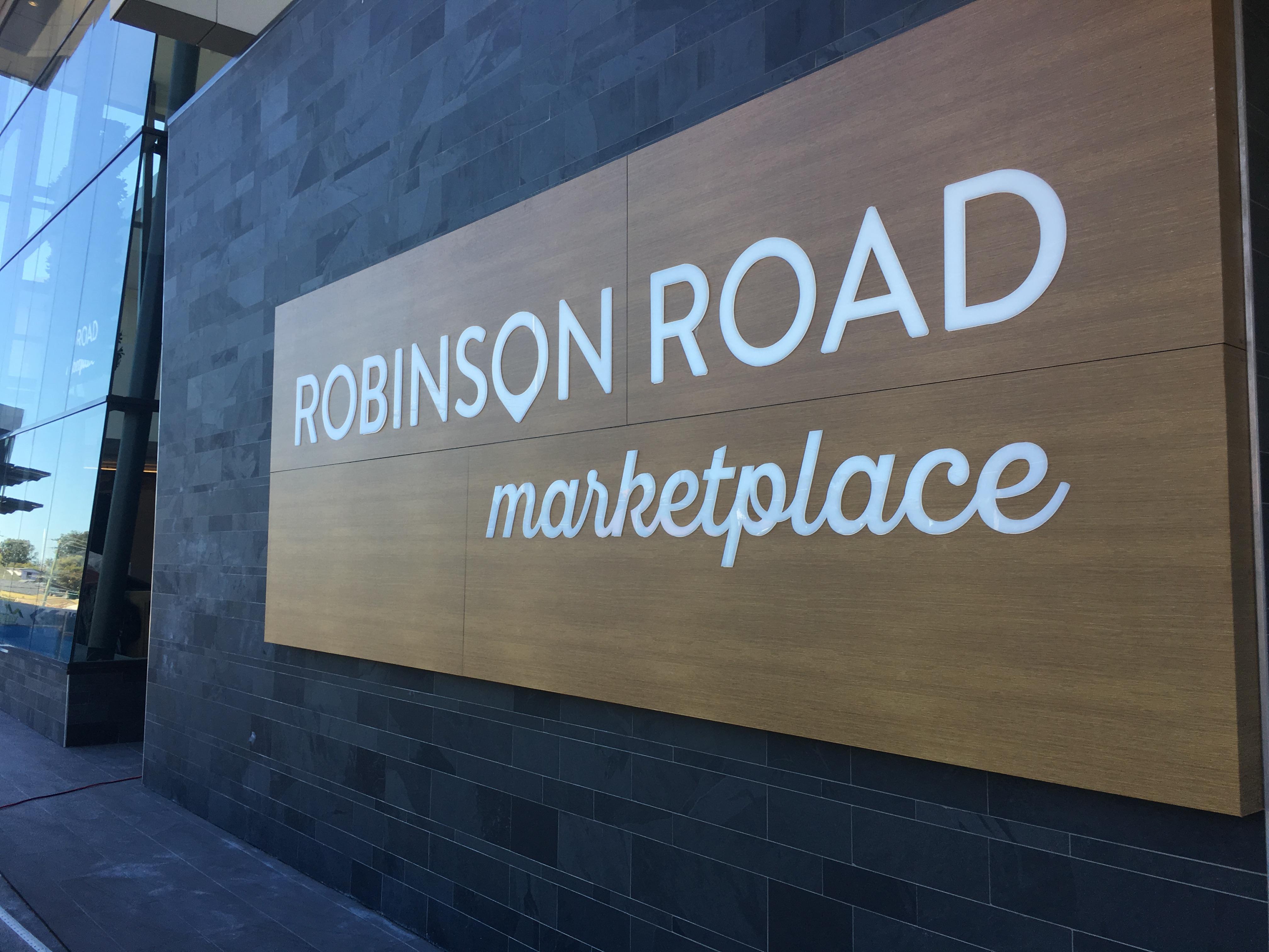 Robinson Road Marketplace - Redevelopment June 2017